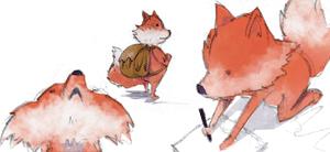 Kleiner Fuchs auf Reisen