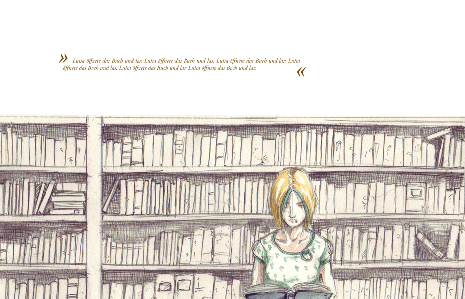 Quer durchs Bücherregal