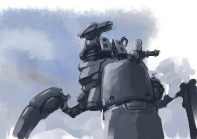 Großer Roboter